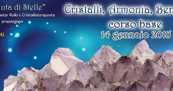 ***Evento: Corso Base di Cristalloterapia