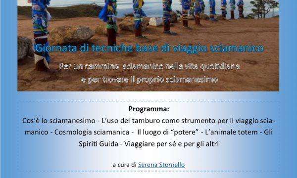 Giornate di Sciamanesimo – Prossimi appuntamenti