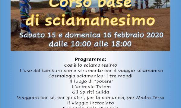 Corso Base di Sciamanesimo 15/16 febbraio 2020