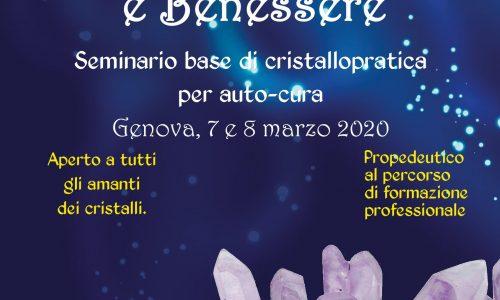 Corso Base cristalloterapia:  7/8 marzo 2020