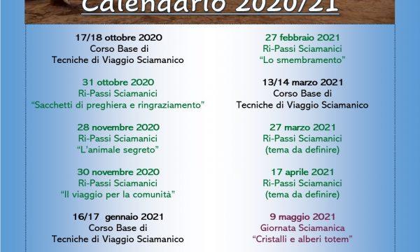 Calendario Sciamanesimo 2020/21 (riveduto e corretto)